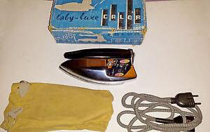 Fer-a-Repasser-Vintage-CALOR-Baby-Luxe-N-12-120-220V-env-1960