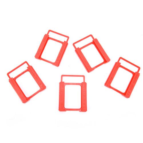 "5x Drive Bay Caddies SSD Hard Drive Bay 2.5/"" To 3.5/"" Tray Bracket HDD Adapter P0"