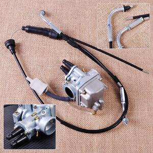 pour-Yamaha-PW80-Dirt-Bike-Throttle-Cable-carburateur-Carburetor-Assemblee-Assy