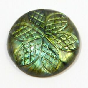 47-Ct-30x30x7mm-Labradorite-Carving-Labradorite-Design-Loose-Labradorite-NB-266