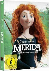 Merida-Leggenda Delle Highlands [Blu-Ray nel cofanetto/Nuovo/Scatola Originale] WALT DISNEY & Pixar