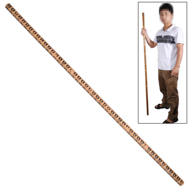 Martial Arts Full Sized Long Bo Staff Training Pratice Wooden 72 Inches