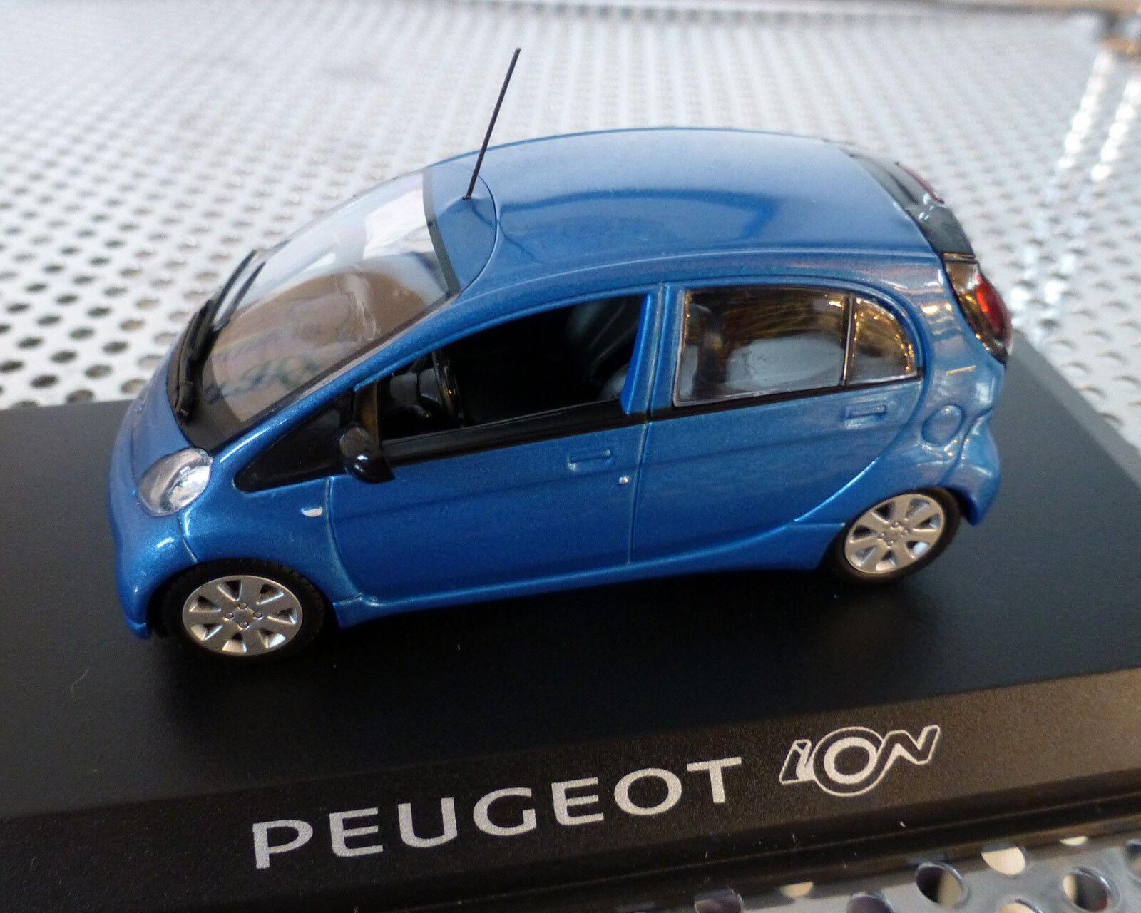 Peugeot Peugeot Peugeot ION blue-Metallic, 1 43, NOREV 5e21b3