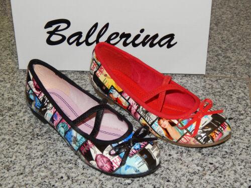34 INDIGO Mädchen Ballerinas Halbschuhe  31 33 36 37 32 38 35