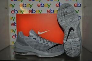 d92be8f1f7a Nike Air Max Infuriate 2 Low 908975 002 Mens Basketball Shoes Gray ...