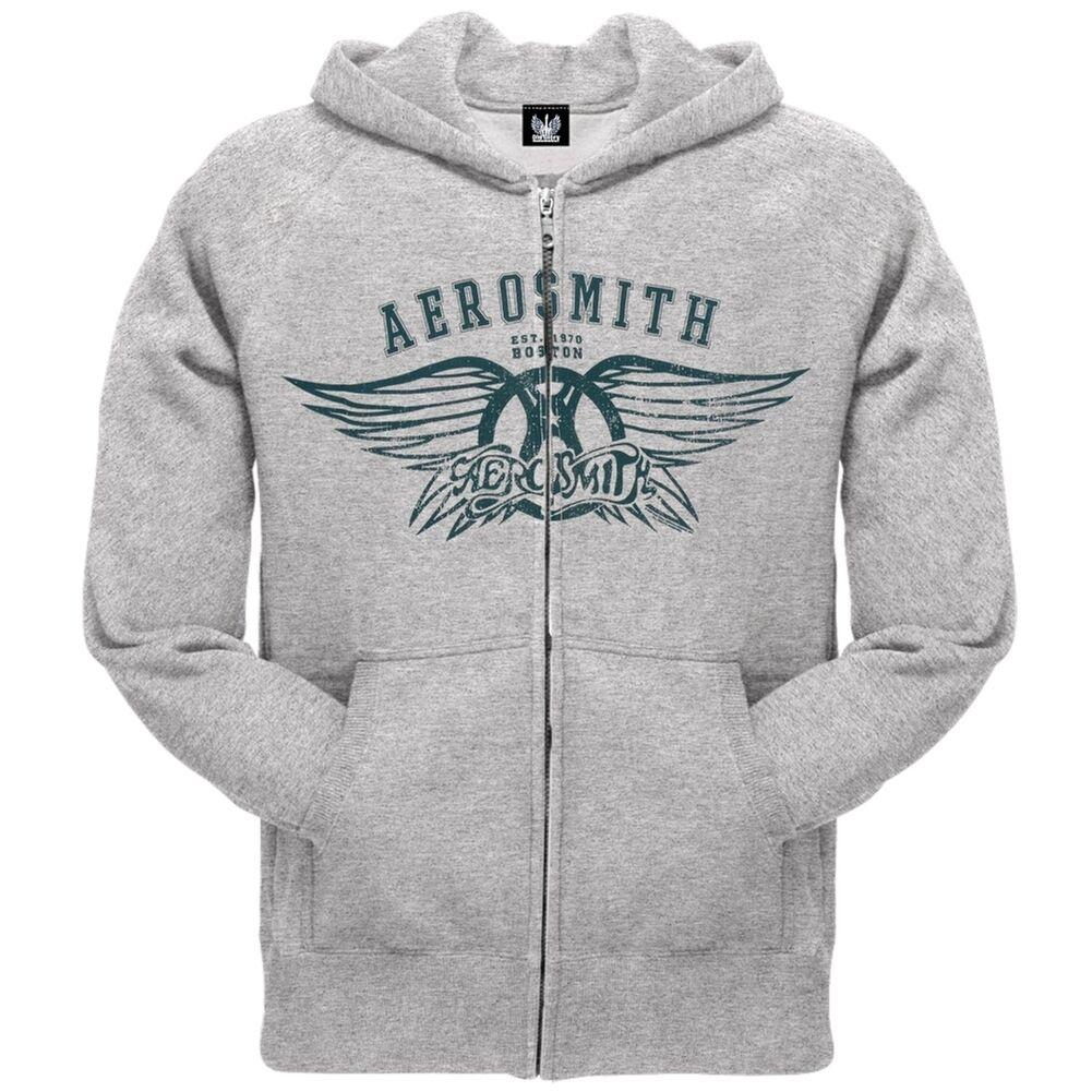 Aerosmith - Boston Zip Hoodie