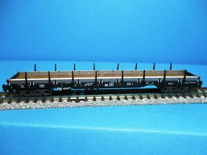 Fleischmann 8287 K DB plat voiture res avec Sions noir, neuf dans sa boîte, M 1:160