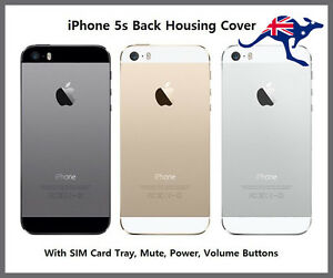 quality design 47aa8 111a0 Details about Apple iPhone 5s Back Cover Housing Replacement