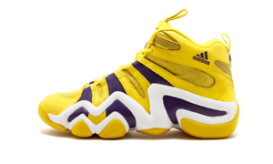 5ceeef00a9fa73 G24829 ADIDAS ORIGINALS CRAZY 8 MEN YELLOW PURPLE SIZE 8 - 11.5 KOBE ...