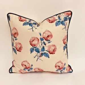 COLEFAX Et FOWLER-Bowood-Pillow Throw Cushion Cover-Contraste Piped
