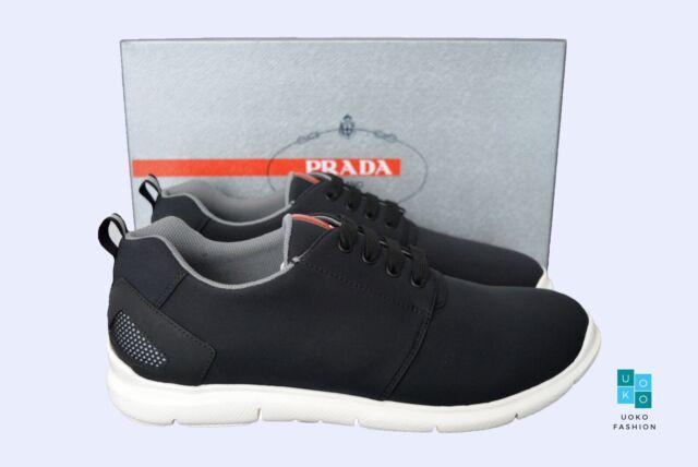 Authentic PRADA Mens Shoes Sz Us9 Eu42