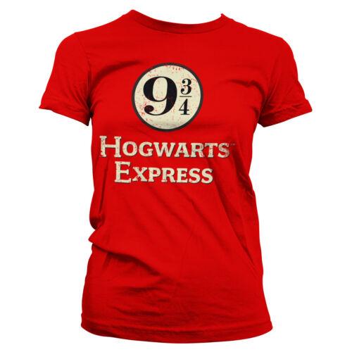 Officially Licensed Hogwarts Express Platform 9-3//4 Women/'s T-Shirt S-XXL Sizes