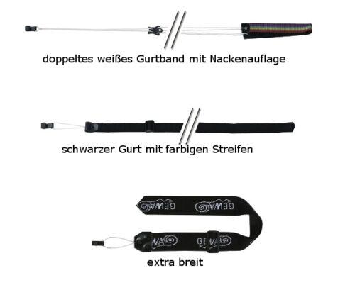 Schalloch-Tragband Gurt für Klassische Gitarre