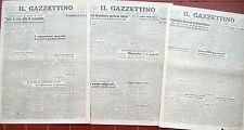 1945 LOTTO DI GAZZETTINO VENEZIA INIZIA IL PROCESSO NORIMBERGA
