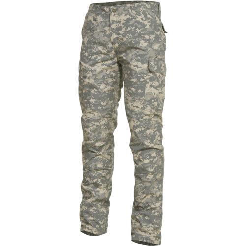 Pentagon BDU 2.0 Pants Mens Cargo Security Tactical Trousers ACU Digital Camo