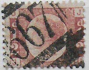 SG48-1-2d-Rose-Red-Pl-8-Good-FU-With-667-Cancel-of-Rye-Cat-120-Ref-044