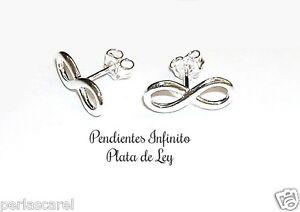PENDIENTES-INFINITO-16-5-mm-PLATA-de-ley-925-Calidad-moda-y-precio