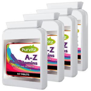 A-Z-039-240-Multi-vitamine-per-gli-uomini-amp-donne-1-un-giorno-made-in-UK-purvitz