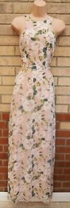 MISSGUIDED-PALE-PINK-FLORAL-VTG-WEDDING-CUT-OUT-SIDES-LONG-MAXI-PARTY-DRESS-8-S