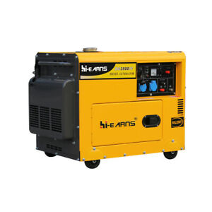 3.5KW Enclosed Portable Diesel Generator