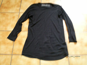 groß Shirt Dehnbar gr Traumt l Black os rundholz sehr lagenlook tunika Label SaCwfRq