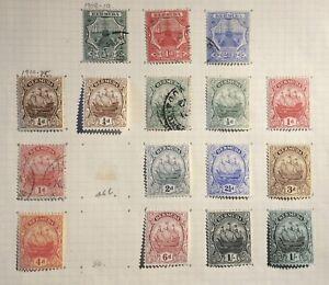 BERMUDA-1906-25-SELECTION-MM-amp-USED