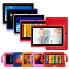 "Android 4.4 7"" 8GB Dual Cameras Quad Core WiFi Kids Child Tablet PC +Bundle Case"