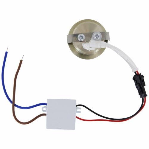 LED Mini Spot Aluminium Einbauleuchte Einbaustrahler 230V 3W 260lm tagesweiß