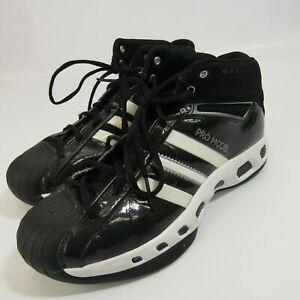 Adidas Pro Model Basketball Shoes Women's Size 7 Black White ...