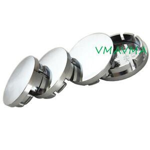 4PCS-56mm-Glossy-Silver-Car-Wheel-Center-Hub-Caps-Wheel-Dust-proof-Hubcap-Cover