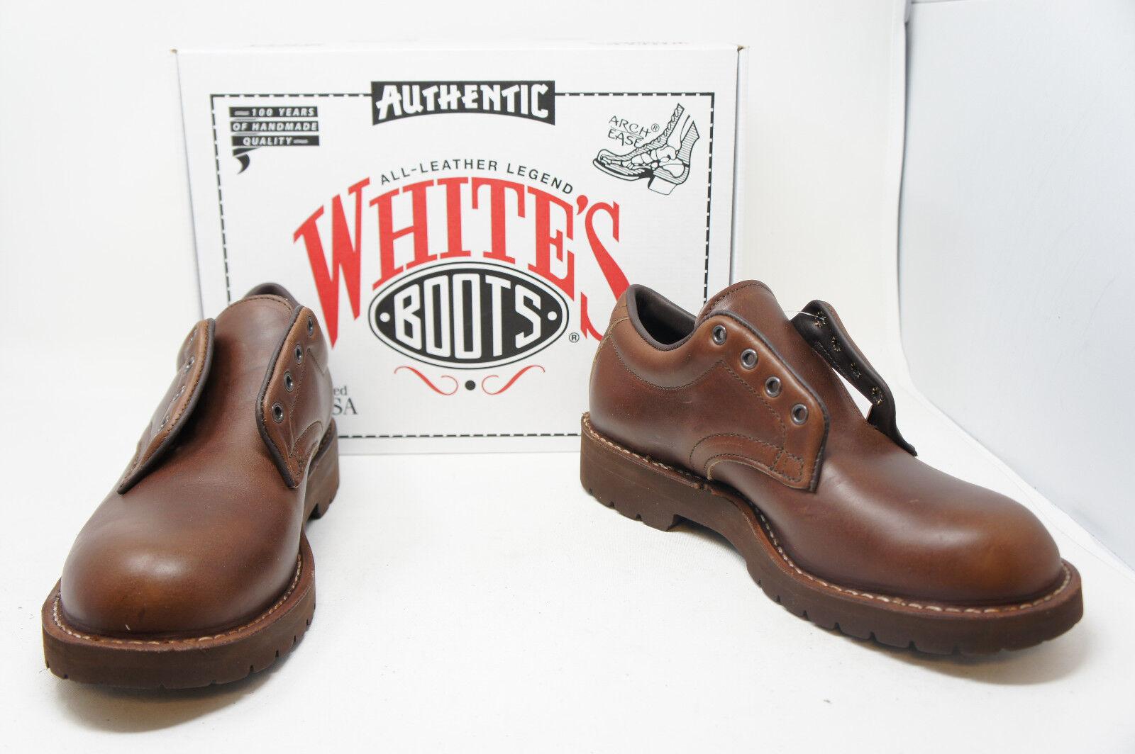 bianca's stivali Centennial Walker British Tan OX top Dimensione 10 F