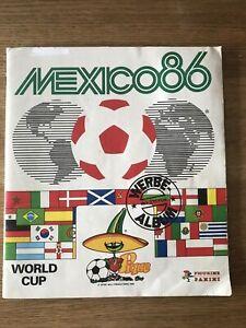 Panini Mexico 86 WM 1986 Album komplett