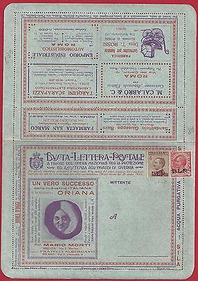 Blp N ° 4c 5 Auf Umschlag Spezial Neu Vollständige Angemessener Preis Hell 1921/23 Vereinigte