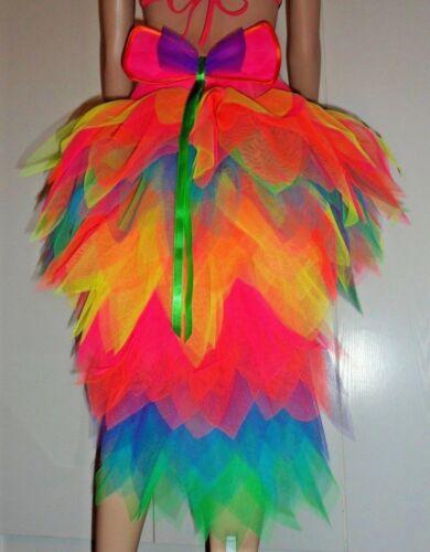 con cola increíble una del Un muy Fantasía del fantástica tutú arco completo iris tutú 77qgvCx