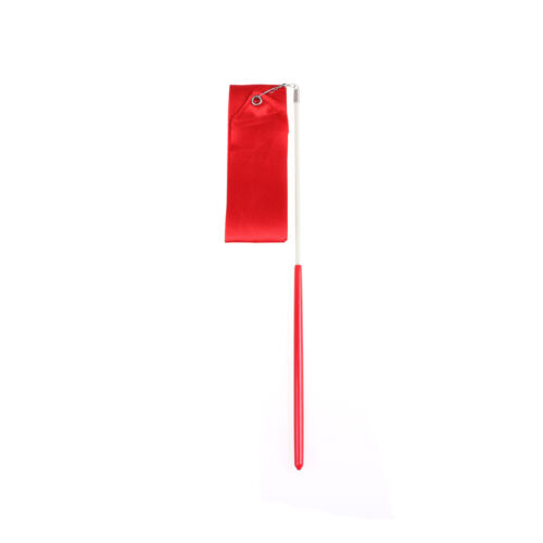 Gym Dance Ribbon Gymnastics Art Ballet Streamer Twirling Rod Outdoor Sport EC