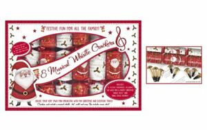 Box-of-8-Musical-Whistle-Crackers-Christmas-Crackers-Festive-Fun-Family-Game