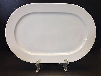 Arzberg CULT Platte oval 38 cm Fleischplatte Servierplatte 2. Wahl Gastro weiß