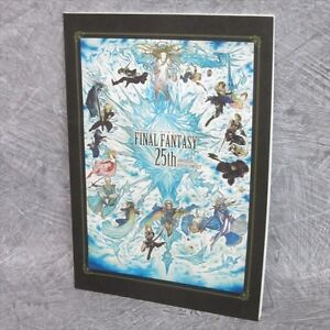 FINAL-FANTASY-25th-Anniversary-Official-Art-Illustration-Japan-Book-Ltd-SE