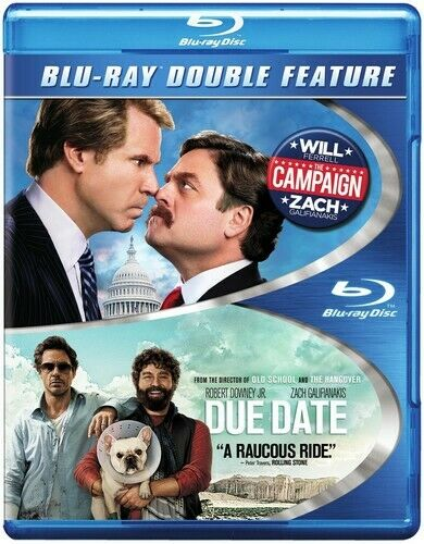 The Campaign (2012) / Due Date (2 Disc) BLU-RAY NEW