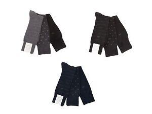 Calvin Klein Men's 3 Pair Cotton Blend Dress Socks Sz 7-12 NEW