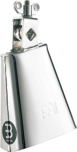 4.5in, Low, Chrome Meinl Realplayer Steel Cowbell STB45L-CH