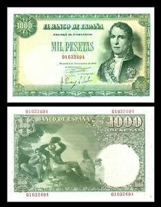2x  1.000 Pesetas - Edición 1949 - Reproducción - 11