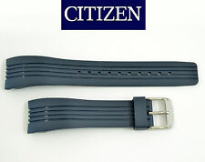 Citizen BL5300-22A Original Rubber Watch Band STRAP BLUE  4-S043417 4-S061865