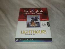 Lighthouse the dark being SIERRA Point & Click Light House  -- PC -- Big Box FR