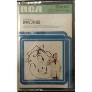 MUSICASSETTA RCA STEREO LE CANZONI DI MACARIO