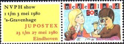 ref-12959 Netherlands 1980 Jupostex Stamp Exhibition Sg.1338 Mint Mnh Superior Performance Netherlands & Colonies Europe