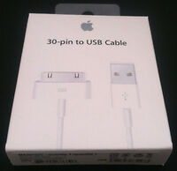 Original 1 Meter 30-pin To Usb Charge Sync Cable Charger For Iphone 3 3g 4 4s