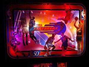 NBA FASTBREAK Complete LED Lighting Kit custom SUPER BRIGHT PINBALL LED KIT