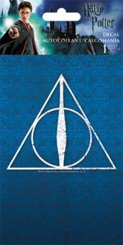 7170 WINDOW DECAL//STICKER BRAND NEW DEATHLY HOLLOWS HARRY POTTER