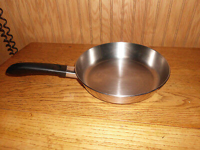Revere Ware Stainless Steel Disc Bottom 9 Quot Skillet Fry Pan